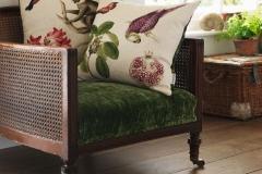 Sanderson-Cushions-Capuchins-Parrot-and-Monkey-Fuchsia-Green
